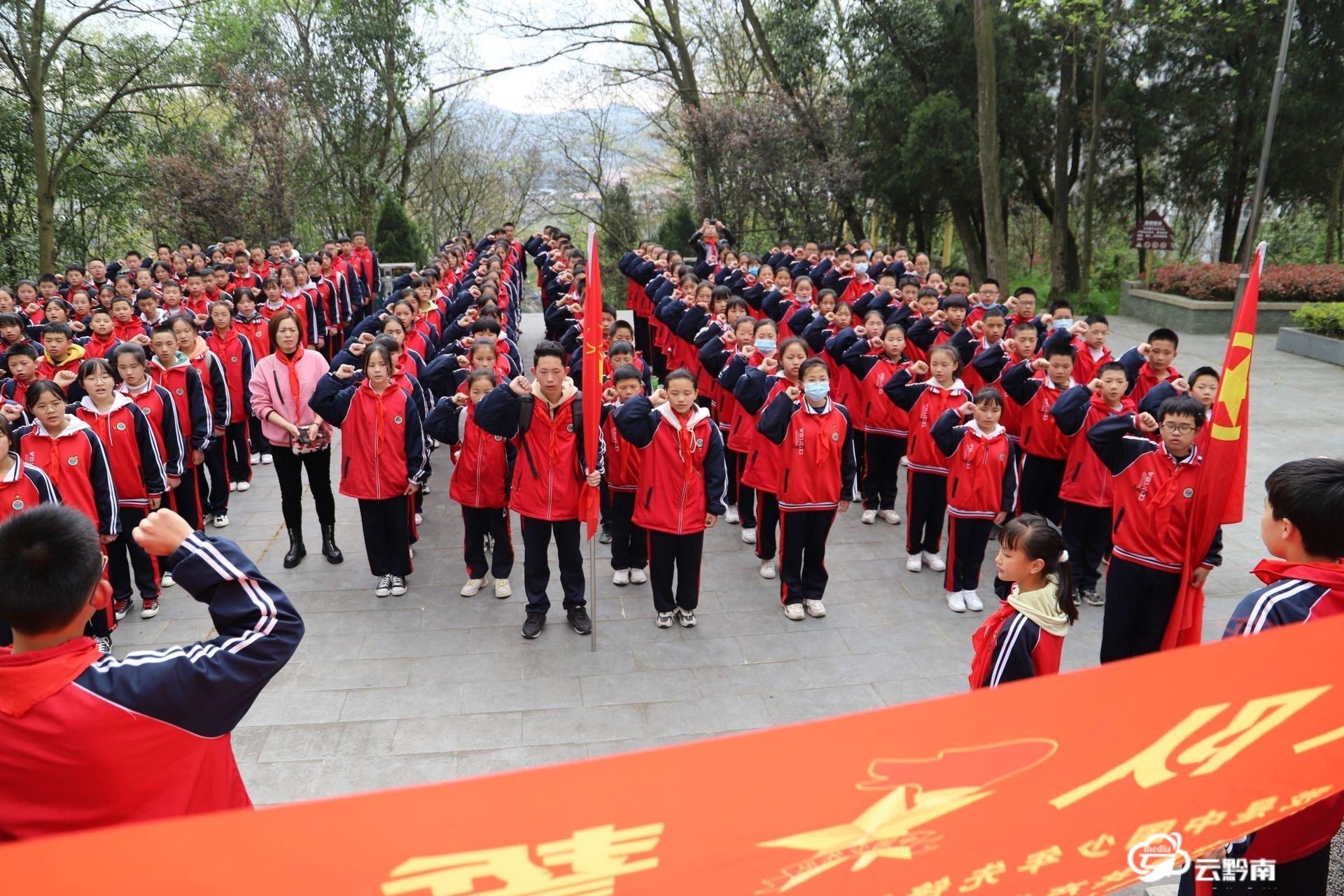 福泉:红色文化进校园 厚植爱党爱国情